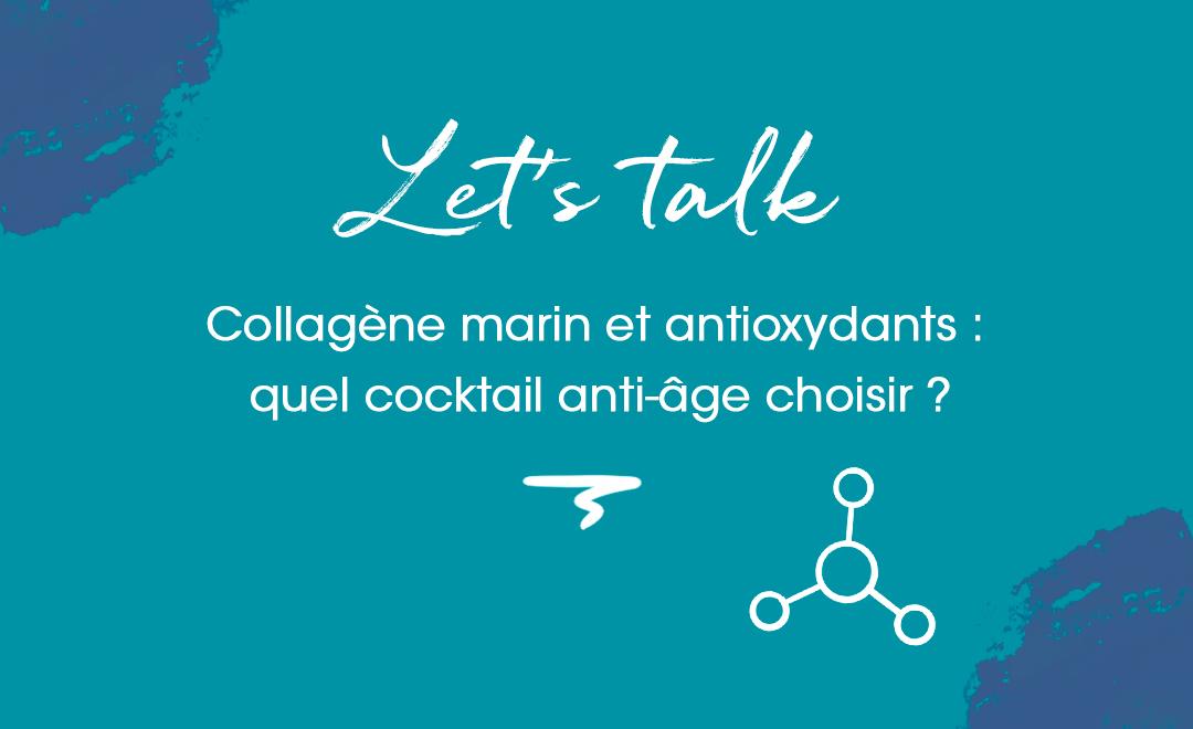 collagène marin et antioxydants : quel cocktail choisir ?